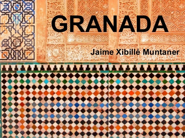 GRANADAJaime Xibillé Muntaner