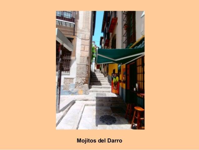 Calle Concepción del Darro y el Generalife