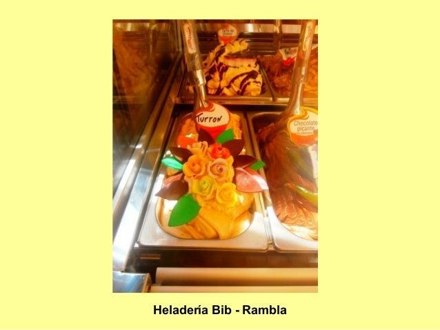 Heladería Bib - Rambla