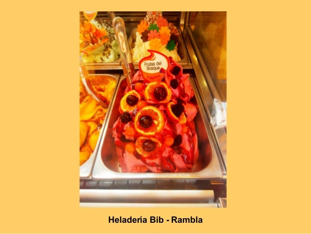 Menú Bib - Rambla