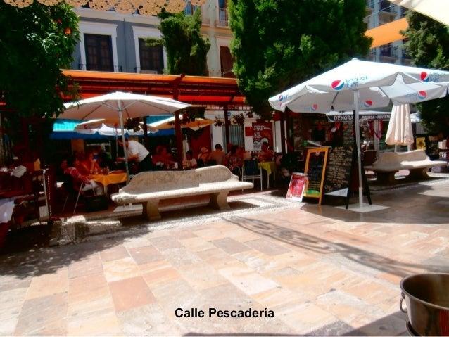 Calle Pescadería (Menú)
