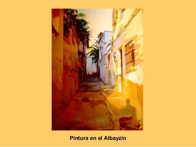 Albayzín Pintura