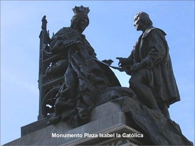 Monumento Plaza Isabel la Católica