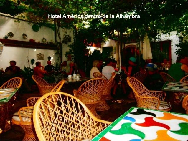 Hotel América dentro de la Alhambra