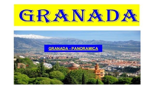 GRANADA - PANORAMICA