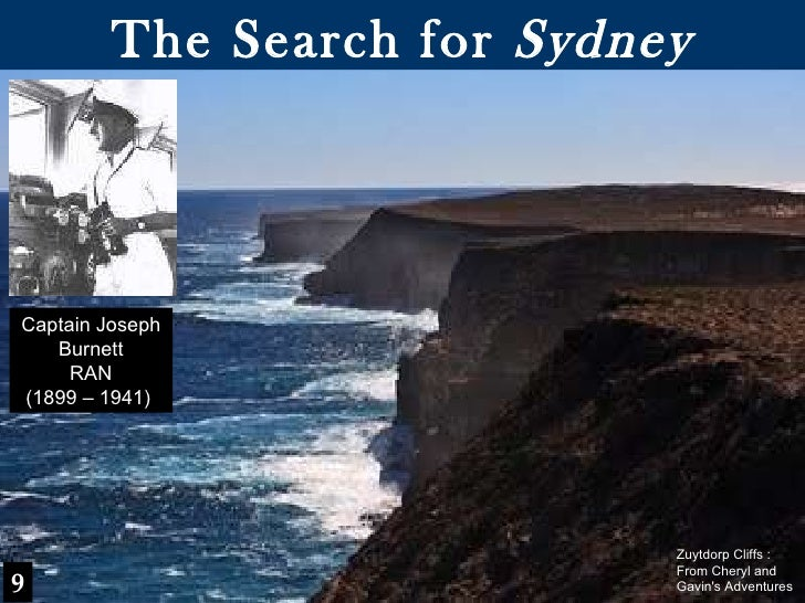 The Search for  Sydney Captain Joseph Burnett RAN (1899 – 1941)  9 Zuytdorp Cliffs : From Cheryl and Gavin's Adventures