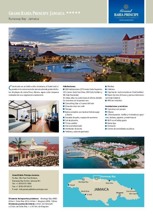 Grand Bahia Principe Jamaica eeeee Runaway Bay · Jamaica  C  onstruido en un bello estilo victoriano, el hotel está situad...