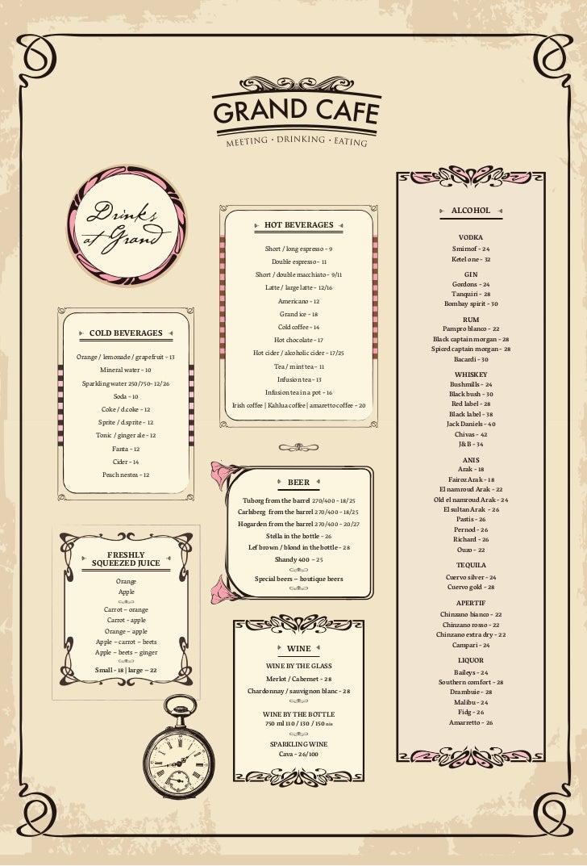 Butter Cafe Menu