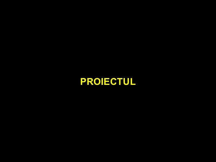 PROIECTUL