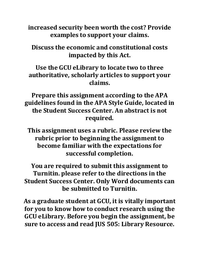 English Short Essays Grand Canyon University Jus  Week  Assignment Patriot Act Essay New Do My Assignment Uk also Write My Assignment Australia Grand Canyon University Jus  Week  Assignment Patriot Act Essay N Essays For High School Students