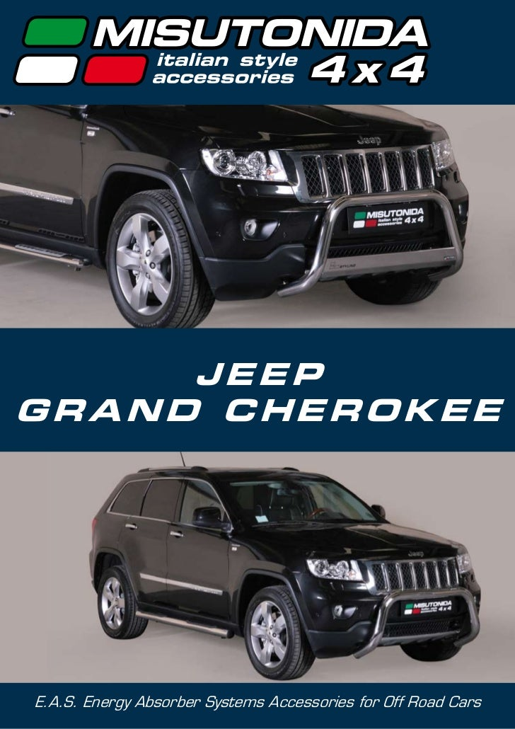 JEEPGRAND CHEROKEEE.A.S. Energy Absorber Systems Accessories for Off Road Cars