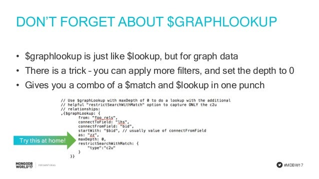Doing Joins in MongoDB: Best Practices for Using $lookup