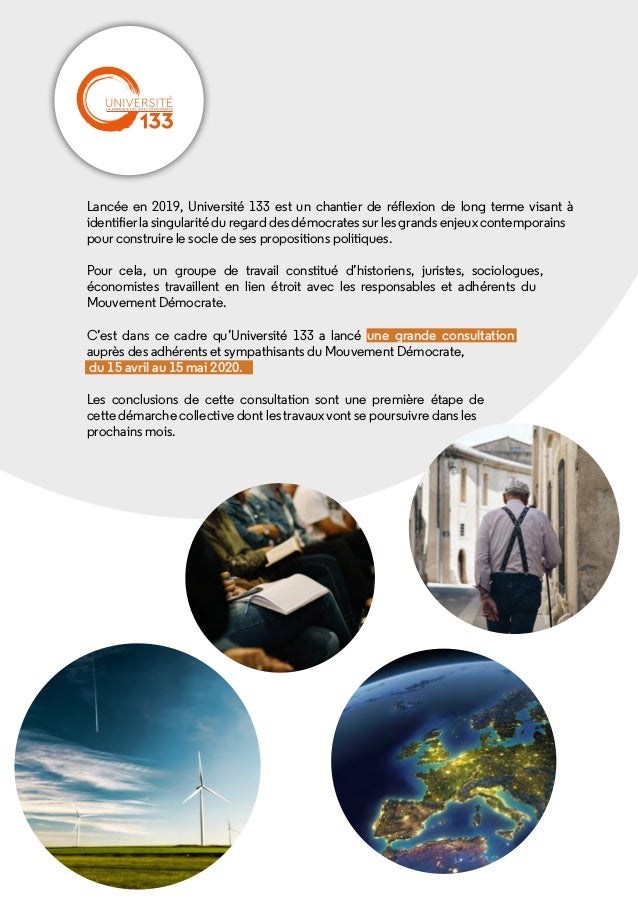 Grande consultation MoDem - Universite133 - 4 juillet 2020 Slide 2