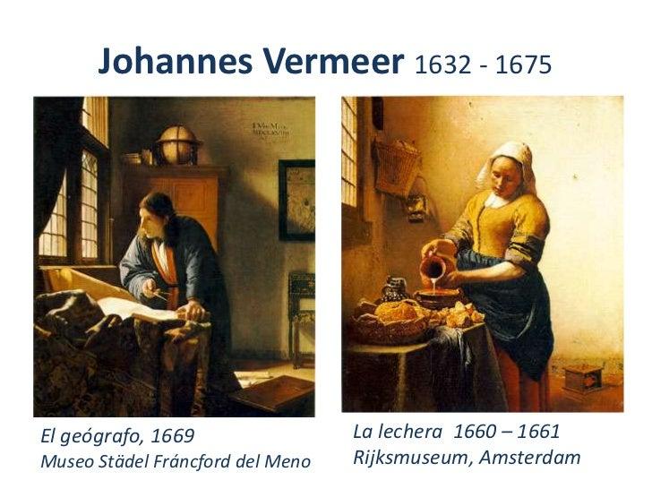 Grandes obras de la pintura1 - La lechera de vermeer ...