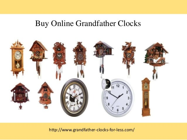 Buy Online Grandfather Clocks http://www.grandfather-clocks-for-less.com/