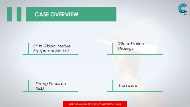 HSBC-IBA Case Competition 2016 Final Round Slide 2