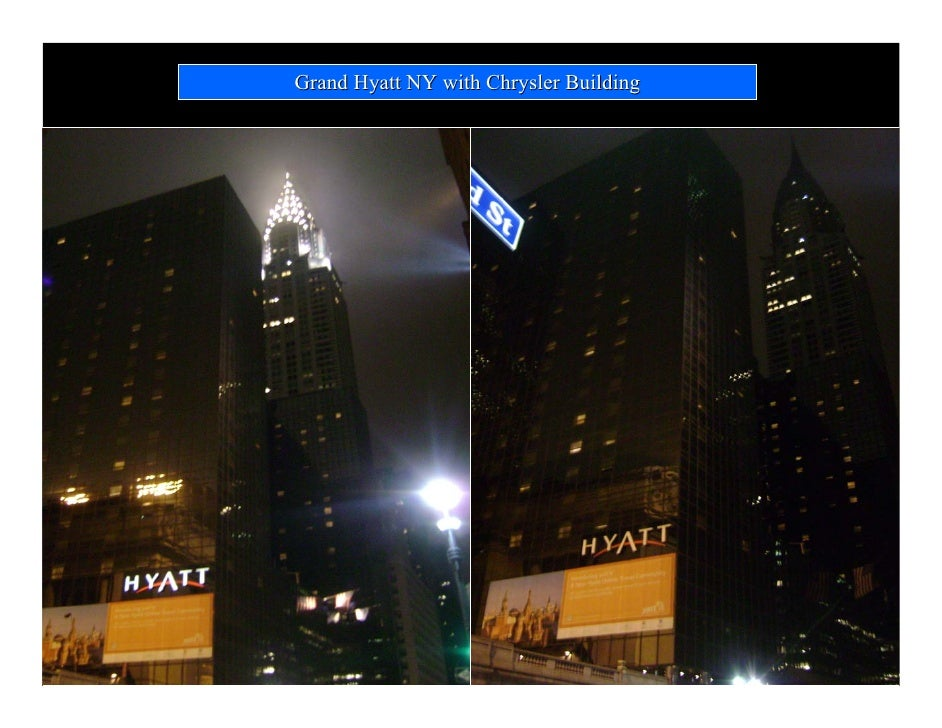 Grand hyatt new york earth hour - Grand tableau new york ...