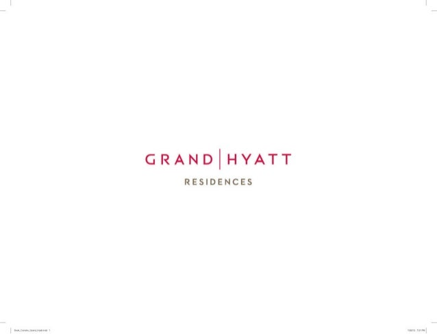 Grand Hyatt - Barra da Tijuca - Vendas (21) 8707-2813