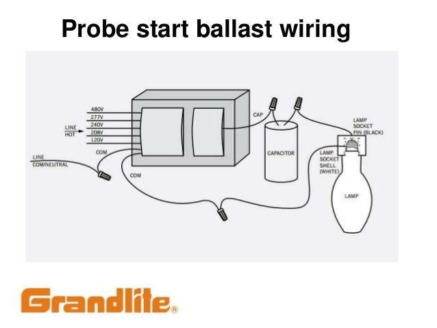 Metal Halide Ballast Wiring Diagram Probe Start Somurich com
