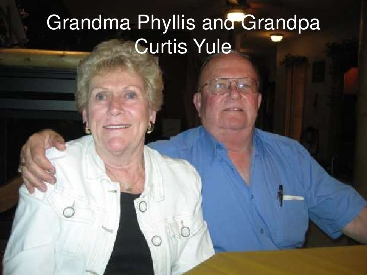 Grandma Phyllis and Grandpa Curtis Yule<br />