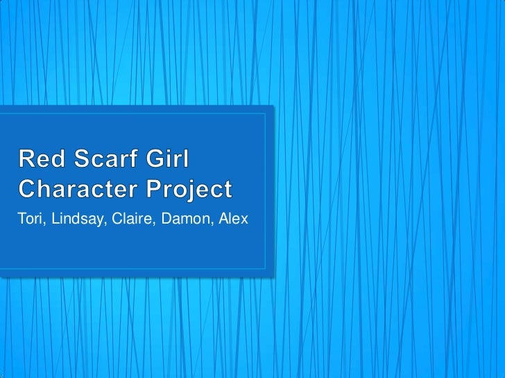 red scarf girl characters