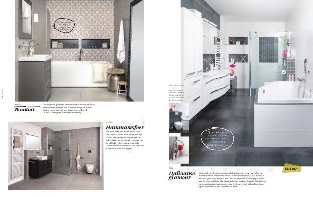 Welke Badkamer Magazine : Tips voor de mooiste badkamer