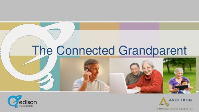 The Connected Grandparent                    © 2012 Edison Research and Arbitron Inc.