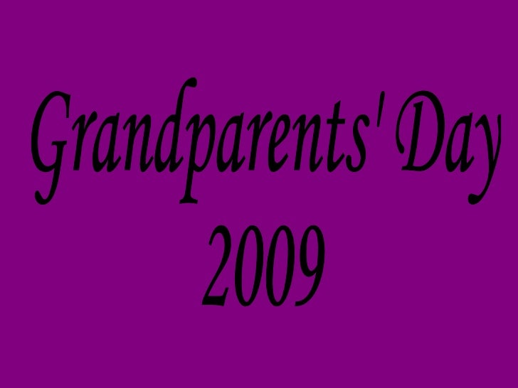 Grandparents' Day 2009