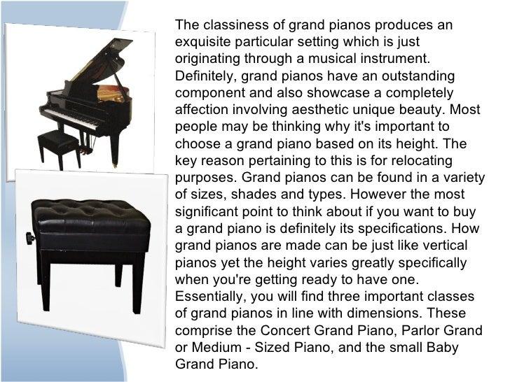 grand piano dimensions