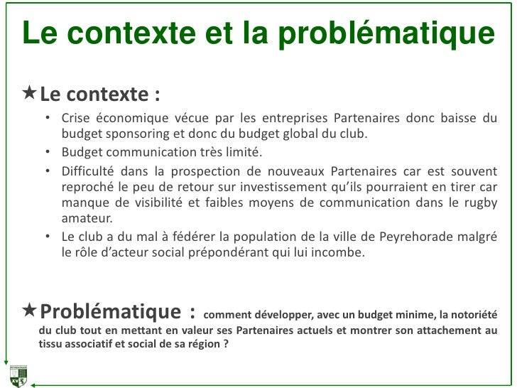 Dossier De Presentation Du Projet De Communication Offrez Vous Un Jo