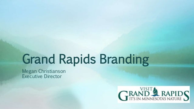 Grand Rapids Branding Megan Christianson Executive Director