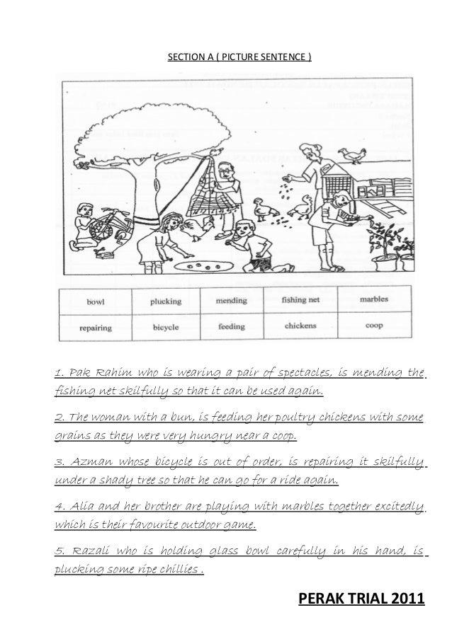 english essay sample for upsr