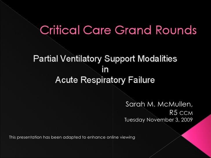 Sarah M. McMullen,                                                                   R5 CCM                               ...