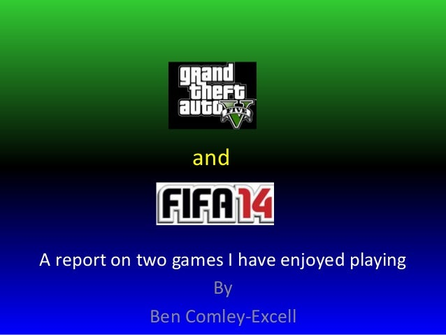 and  A report on two games I have enjoyed playing By Ben Comley-Excell
