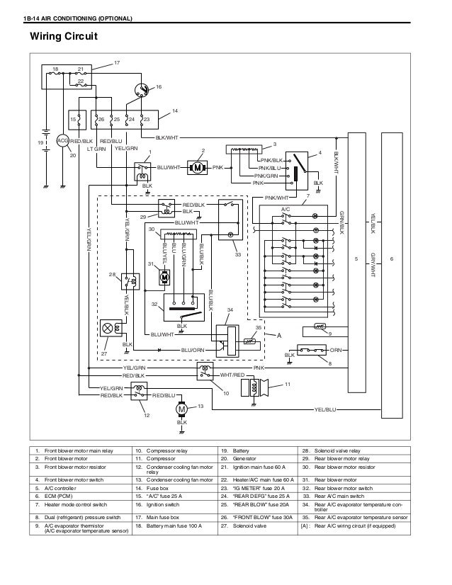 service manual  electrical relays schematic 2012 suzuki