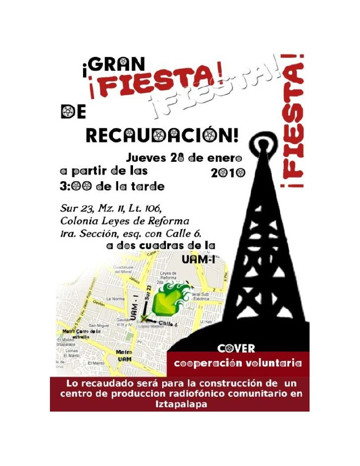 Gran Fiesta De Recaudacion Iztapalapa
