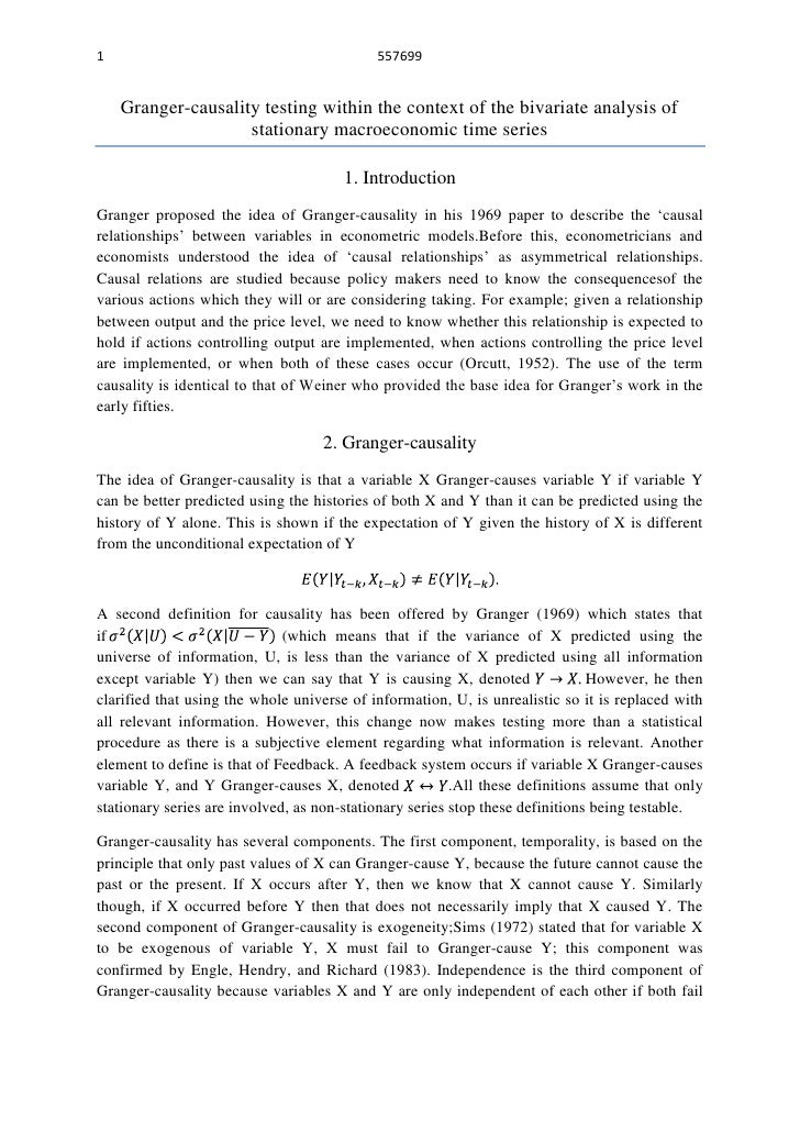 1                                           557699    Granger-causality testing within the context of the bivariate analys...