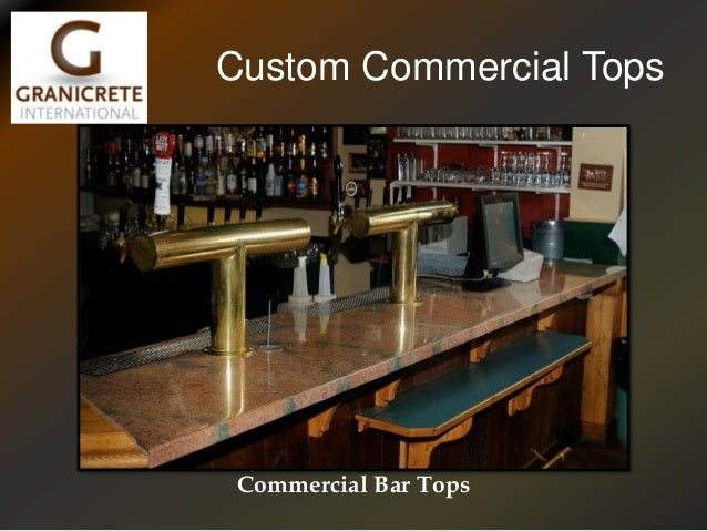 Custom Commercial Tops Commercial Bar Tops ...