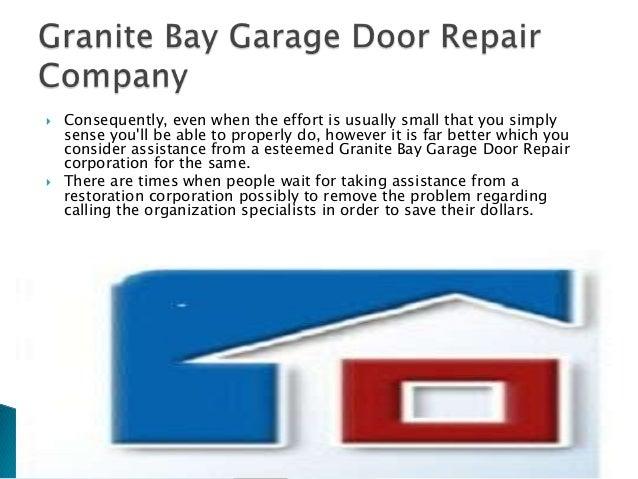 Granite Bay Garage Door Repair