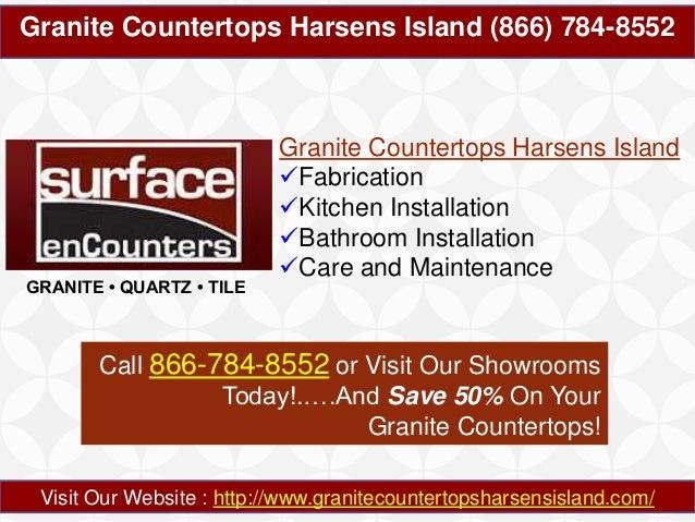 Granite Countertops Harsens Island (866) 784-8552  GRANITE • QUARTZ • TILE  Granite Countertops Harsens Island Fabricatio...