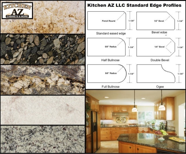 granite kitchen countertop edge profiles in phoenix at cost