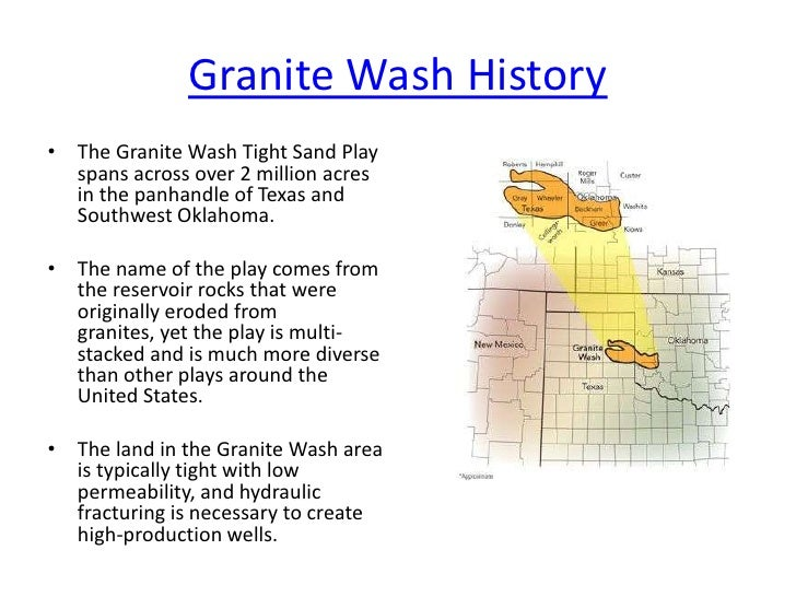Granite Wash Guide For Owners Tejas Minerals Powerpoint
