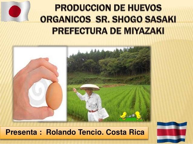 Presenta : Rolando Tencio. Costa Rica
