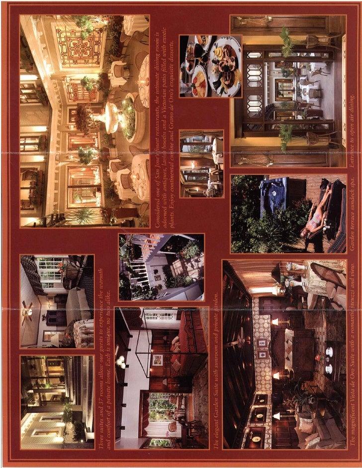 Brochure: Grano de Oro