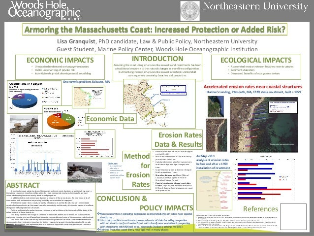 Armoring the Massachusetts Coast: Increased Protection or Added Risk?  ABSTRACT Armoring the coast using structures like s...