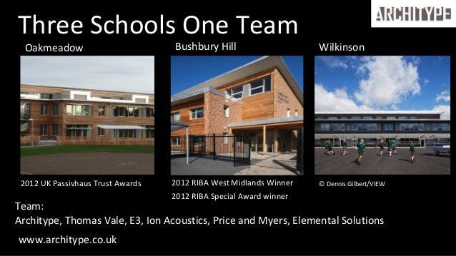 Building an even better Passivhaus School Slide 2