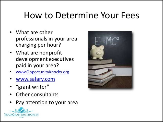 how to become a grant writing consultant
