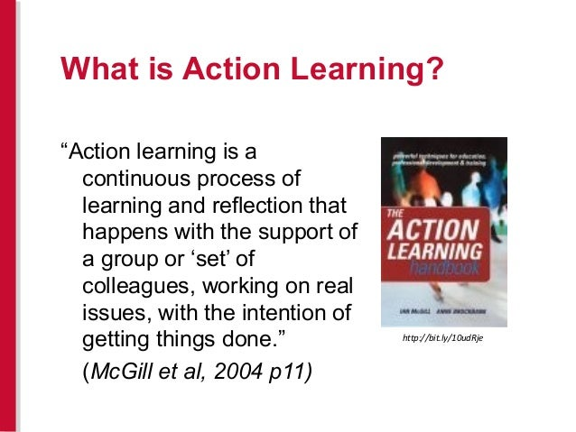 action learning best practices
