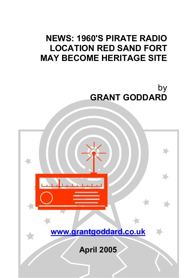 News: 1960's Pirate Radio Location Red Sand Fort May Become