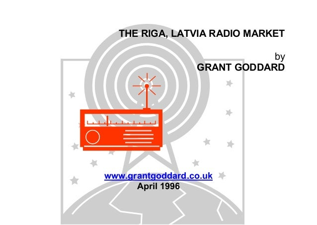 THE RIGA, LATVIA RADIO MARKET by GRANT GODDARD  www.grantgoddard.co.uk April 1996